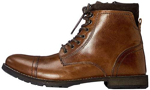 find. Max Herren Zip Worker Biker Boots, Brown (Casual Tan), 46.5 EU
