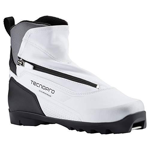 Tecnopro Damen Ultra Pro Prolink Traillaufschuhe, Weiß (White/Black/Silver 900), 41 1/3 EU