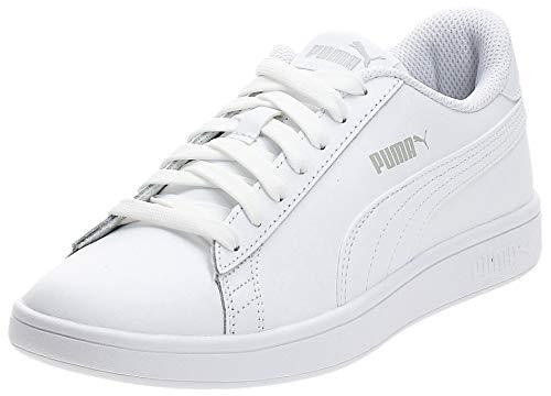 PUMA Unisex-Erwachsene Smash v2 L Sneaker, White White White, 40.5 EU