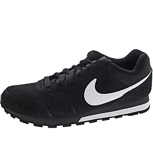 Nike Md Runner 2, Herren Gymnastikschuhe, Schwarz (Black/White-Anthracite 010), 46 EU