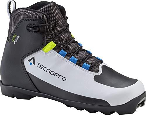 Tecnopro Herren Ultra Prolink Traillaufschuhe, White Black Blue Royal, 45 1/3 EU