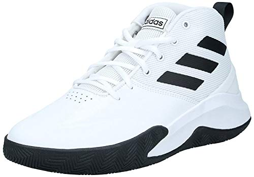 adidas Herren Ownthegame Laufschuh, Blanco/Negro, 44 EU