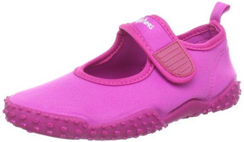 Playshoes Unisex-Kinder Aqua-Schuhe Klassisch, Pink (Pink 18), 28/29