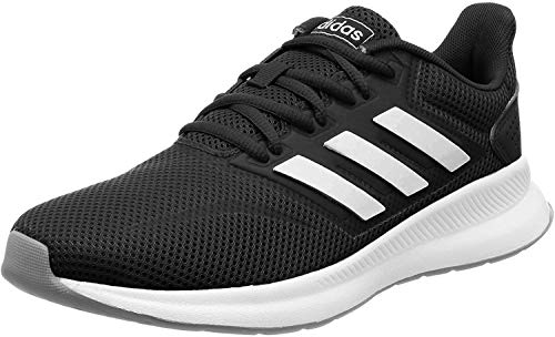 adidas Damen Falcon Laufschuhe, Schwarz (Core Black/Footwear White/Grey 0), 39 1/3 EU