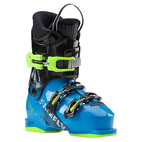 Firefly Kinder Skistiefel F50-3, 25 Stiefel, blau/Gelb