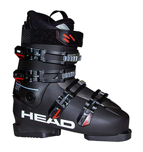 HEAD Herren FX GT Skischuhe, schwarz/rot, 28.0   EU 44