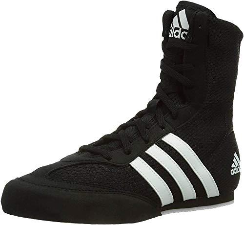 adidas Herren Box Hog 2 Multisport Indoor Schuhe, Schwarz (Black BA7928), 42 2/3 EU
