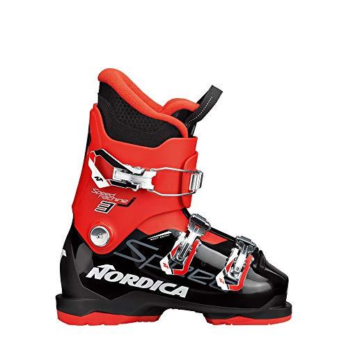 """Nordica Kinder Skischuhe Speedmachine J 3"""" schwarz/rot (701) 22,5"""