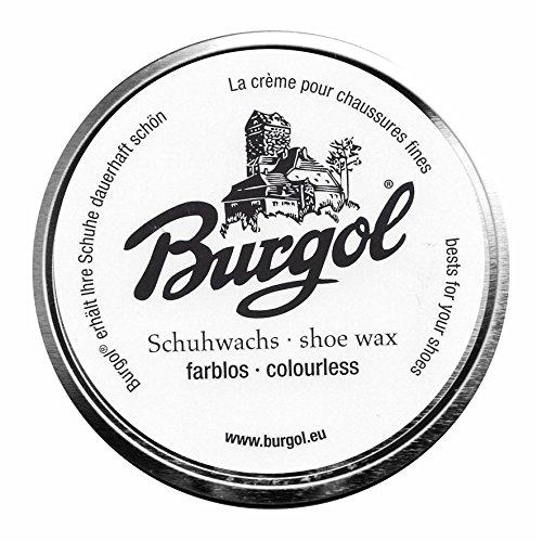 Burgol Schuhwachs, shoe wax (farblos)