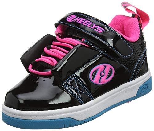 Heelys Mädchen Rift X2 Sneaker, Schwarz (Black/Neon Pink/Cyan Black/Neon Pink/Cyan), 31 EU