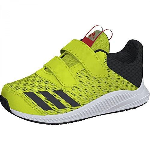 adidas Unisex-Kinder Fortarun Cool Cf I Laufschuhe, Gelb (Amarillo/(Ftwbla/Carbon/Ftwbla) 000), 25 EU