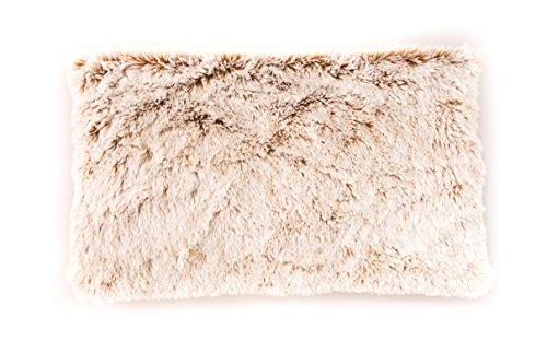 Habibi Plush Wärmekissen creme mit herausnehmbaren Duftsäckchen