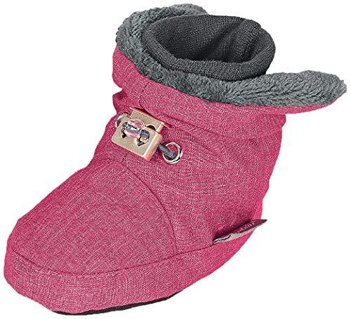 Sterntaler Unisex Baby Schuhe Krabbelschuhe, magenta mel., 17/18 EU