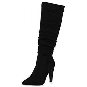 High-Heels-Stiefel, High Heels Damenstiefel, Damenstiefel mit hohem Absatz